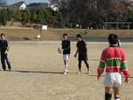 株山中央公園での練習風景