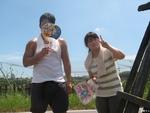 ぶどう狩り&BBQ 2010夏